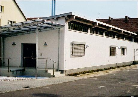 Bildungszentrum Plessow: Lehrmaterialgebäude