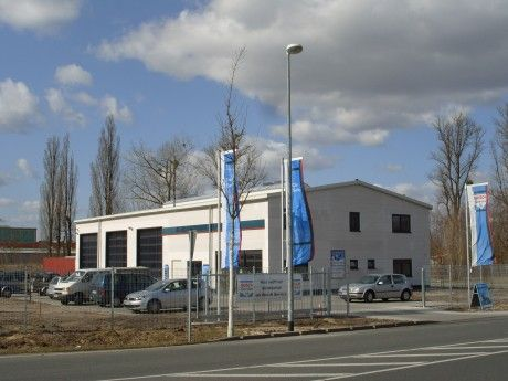 Neubau Autowerkstatt