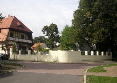 Sanierung einer Grundstückseinfriedung
