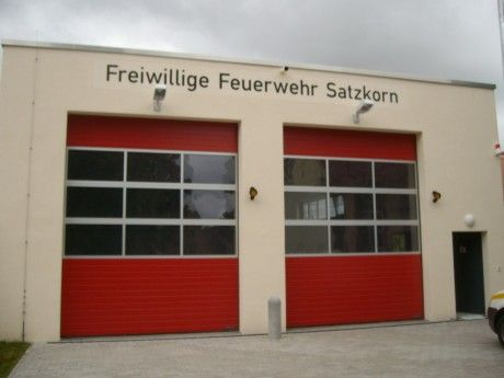 Neubau einer Fahrzeughalle für die FFW Satzkorn