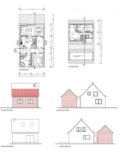 2020 Einfamilienhaus K-L Ansicht SO
