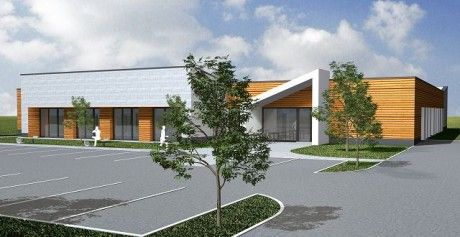 Neubau eines Gewerbegebäudes