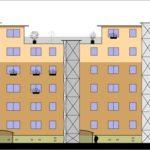 Umbau und Modernisierung von Wohnblocks in Halberstadt 2