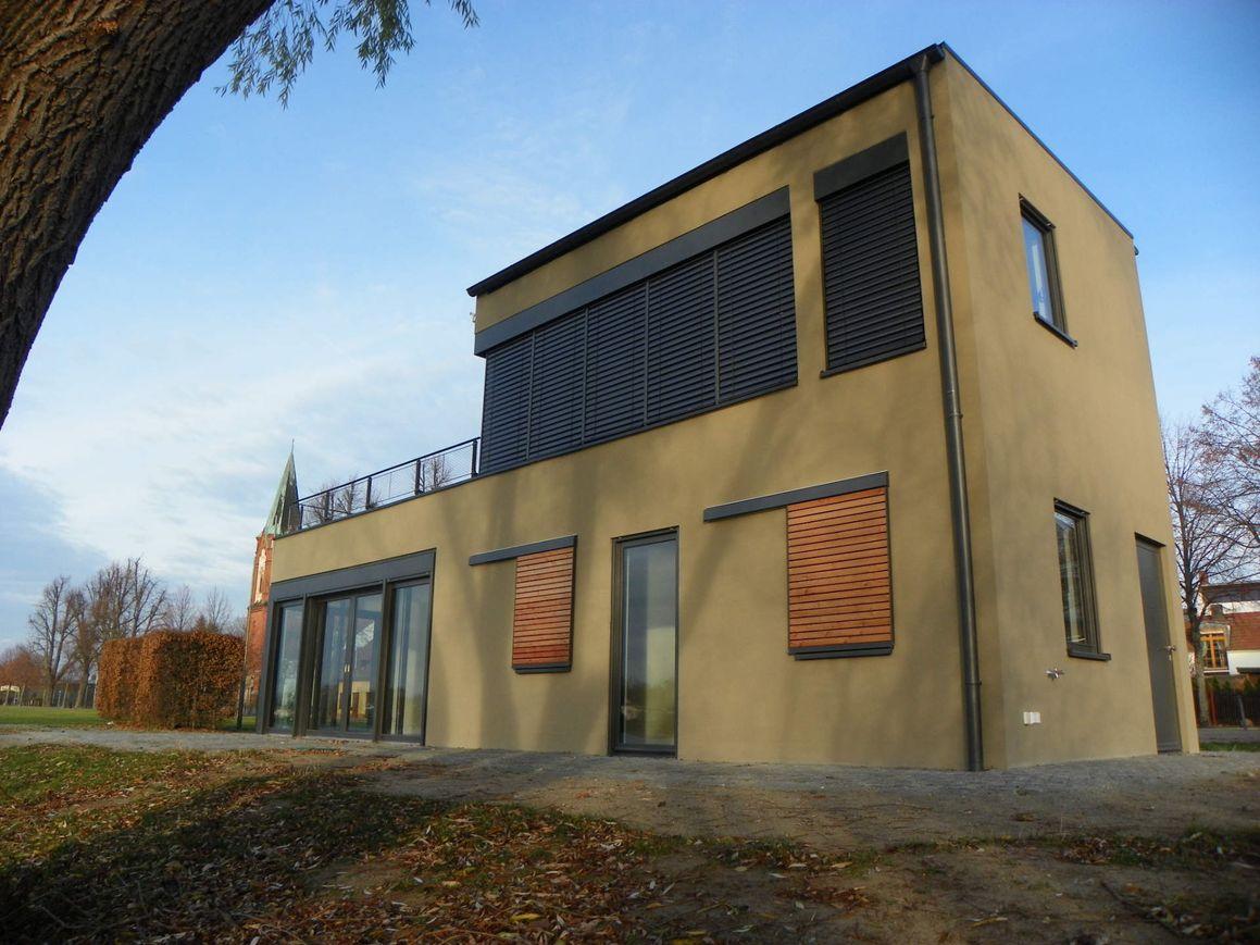 Start- und Zielhaus an der Regattastrecke Werder (Havel)